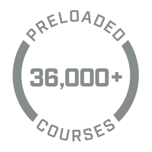 Preloaded with 36,000+ Courses